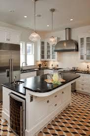 dishy kitchen counter decorating ideas: kitchen counter decorating ideas kitchen traditional with pendant lighting under cabinet lighting geometric tile