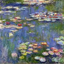 claude monet lessons teach water lilies claude monet wikiart