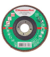 <b>Круг лепестковый</b> Hammer Flex <b>125х22</b> мм <b>Р120</b> — купить в ...