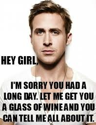 HEY GIRL! on Pinterest   Ryan Gosling, Ryan Gosling Hey Girl and ... via Relatably.com
