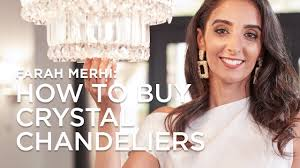 How To Buy a <b>Crystal Chandelier</b> with Farah Merhi - <b>Lamps</b> Plus