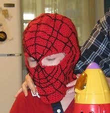 <b>Spiderman mask</b> balaclava <b>hood</b> hat pattern by 2Crochethooks ...