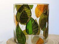 64 Best Glass painting images | Glass painting designs, Glass art ...