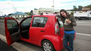 Honeybone and Life The car is smaller than Drew almost