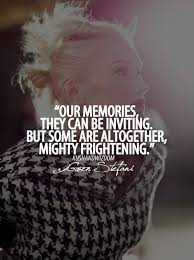 GWEN STEFANI, Quotes and Saying on being famous, positive, alive ... via Relatably.com
