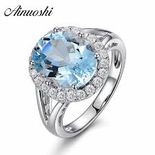 Detail Feedback Questions about <b>AINUOSHI</b> 2 Carat <b>Oval</b> Cut Bezel ...