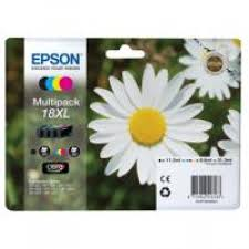 Epson Daisy <b>18XL</b> Series T1816 Multi <b>Pack 4</b> Colour Ink Cartridges ...