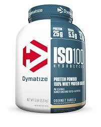 Dymatize <b>ISO 100 Hydrolyzed 100</b>% Whey Protein Isolate Powder ...