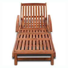 Sunlounger, <b>Sun Lounger Solid</b> Acacia Wood - Buy Online in Israel ...