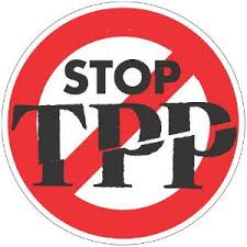 Image result for stop the tpp graphic