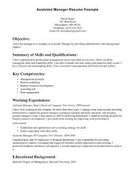 assistant manager resume objective best resume sample resume samples types of resume formats examples and templates assistant manager resume objective