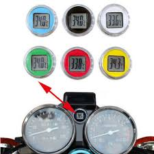 Waterproof <b>Digital Temperature</b> Meter <b>Motorcycle</b> Thermometer ...