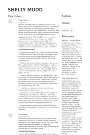 pharmacist resume samples   visualcv resume samples databasepharmacist resume samples