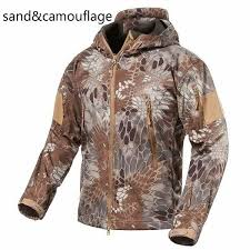 V4 <b>Military</b> Soft Shell <b>Tactical Jacket Outdoor Sports</b> Hiking Hunting ...