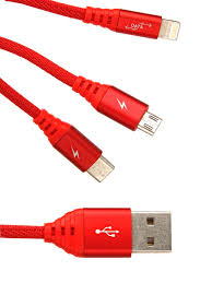 <b>Аксессуар Ainy 5</b>/<b>5C</b>/<b>5S</b>/<b>6/6</b> Plus/iPad Mini/Air + Micro USB Type-C ...