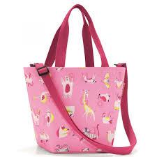 <b>Сумка</b>-<b>шоппер</b> детская <b>Reisenthel Shopper Xs</b> Abc Friends Pink ...
