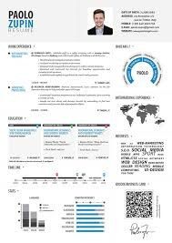 visual resume templates best template design paolo zupin infographic resume infographic vtf1dxr9