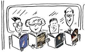 Resultado de imagen de imagenes+club de lectura