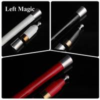 1 pcs appearing candle magic tricks white red wax stage fire close up magician gimmick props