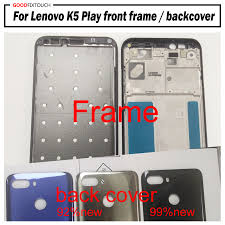 For lenovo K5 Play Front Bezel Frame Faceplate Housing Case With ...