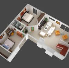 Home Design  D Isometric Views Of Small House Plans Kerala Home    D Plan View Rendering d Home Design Plans Software Free Download Free d House Plans Designs