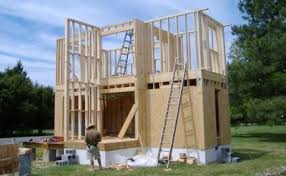 Building Home and Gardenmy small house construction