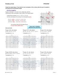 Geometry worksheets and help pages by Math CrushPreview · Print · Answers. Preview of math worksheet on Translation ...