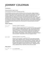 desktop support engineer resume samples desktop support resume sample