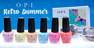 <b>OPI Retro Summer</b> Collection - The Feminine Files