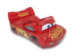 <b>Игрушка надувная Intex лодочка</b> Машинка Disney Тачки красный ...