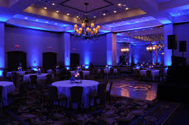 blue uplights for wedding blue wedding uplighting