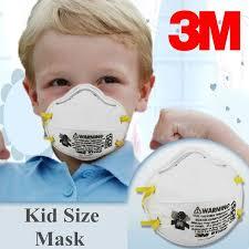 3M 8110S <b>N95 Kid</b> Mask 5/10/<b>20 Pcs</b> Particulate Respirator ...