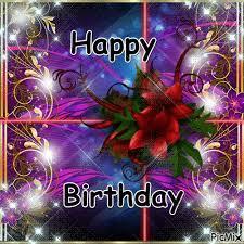 Poinsettia Happy Birthday Quote Gif birthday happy birthday happy ...