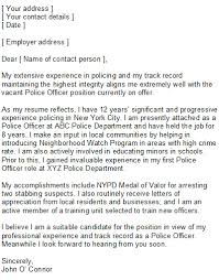 Law Enforcement Resume Sample  police resume cover letter examples     happytom co