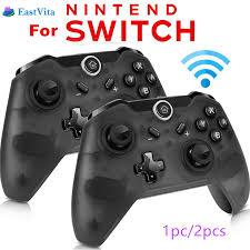 EastVita 1pc/2pcs <b>Bluetooth Wireless</b> Pro Controller Gamepad ...