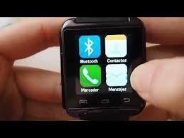 <b>Smart</b> Watch <b>U8</b> Bluetooth, Reloj digital para celulares! - YouTube