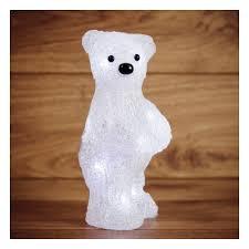 <b>Светодиодная фигура</b> из акрила NEON-NIGHT <b>Медвежонок</b> 22см ...