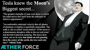 did tesla know the moon s secret aetherforce nikola tesla teslamoon