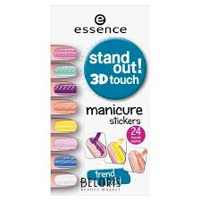 <b>Наклейки для ногтей Stand</b> out! 3D touch Manicure stickers 01 ...