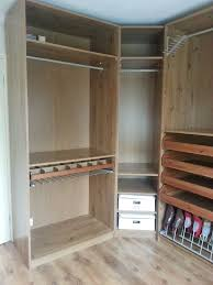 ikea fitted bedroom furniture. x4 wardrobe storage dressing room bedroom furniture ikea oak fitted g