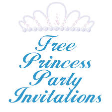 carla chadwick on hubpages princess birthday party invitation templates