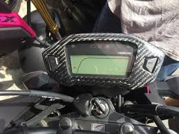 MOS Carbon Fiber Speedometer Cover <b>for Honda CBR 500 R</b>