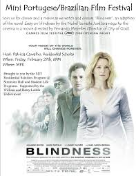 residential scholar events spring  blindness movie poster
