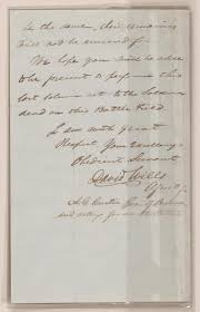 exhibition items gettysburg address exhibitions library of robert todd lincoln papers manuscript division library of congress digital id al0181p1