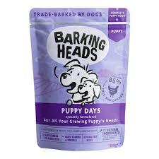 Корм <b>BARKING HEADS</b> Puppy Days <b>Щенячьи</b> деньки паучи для ...