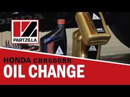 <b>Honda CBR 600RR</b> Oil Change | Partzilla.com - YouTube