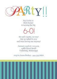 th birthday party invitation template com 60th birthday party invitation template