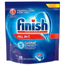 Средство для посудомоечных машин <b>FINISH</b> All in 1 50 <b>таблеток</b> ...