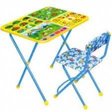 <b>Набор</b> детской <b>мебели Nika</b> Познайка <b>Познаю</b> мир КП2/10 КП2/7 ...