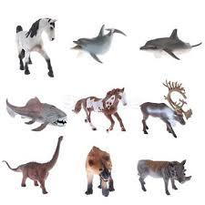 Plastic <b>Simulation</b> Wild/<b>Zoo</b>/<b>Farm Animal</b> Model Figurine Kids ...